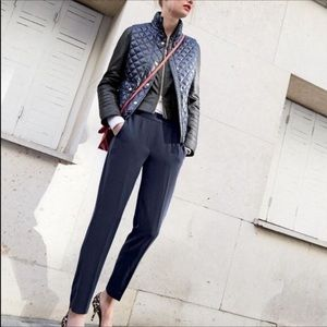 J. Crew | TALL Pull-on Easy Pant Navy